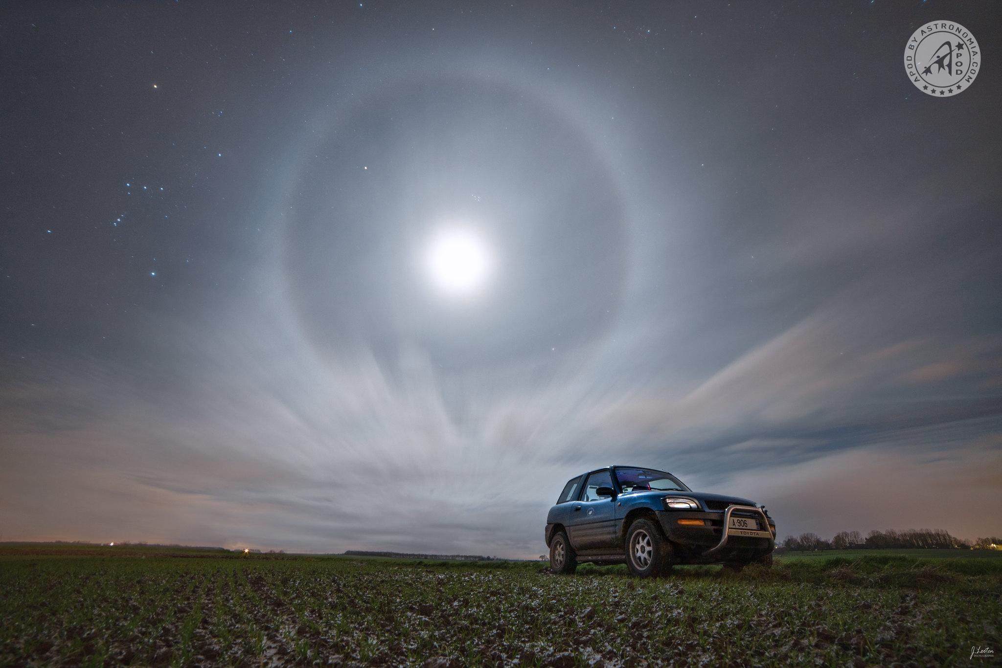 Alone, Orione e Pleiadi