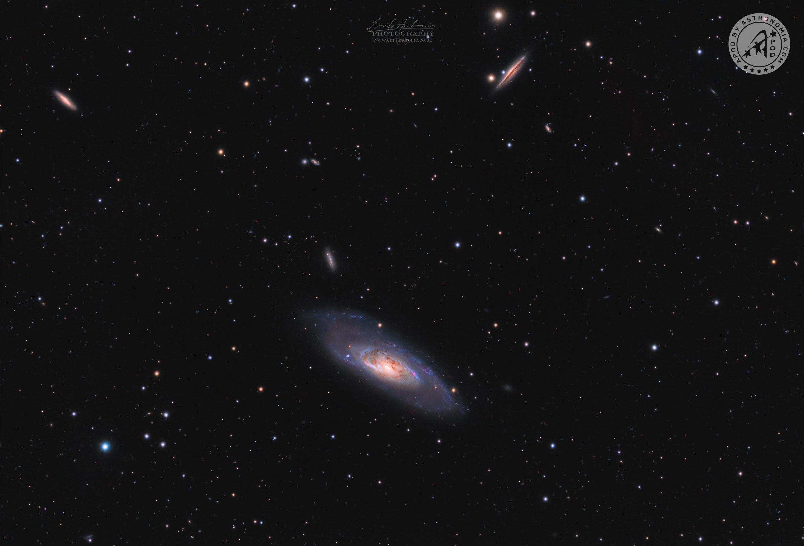 La Galassia M106