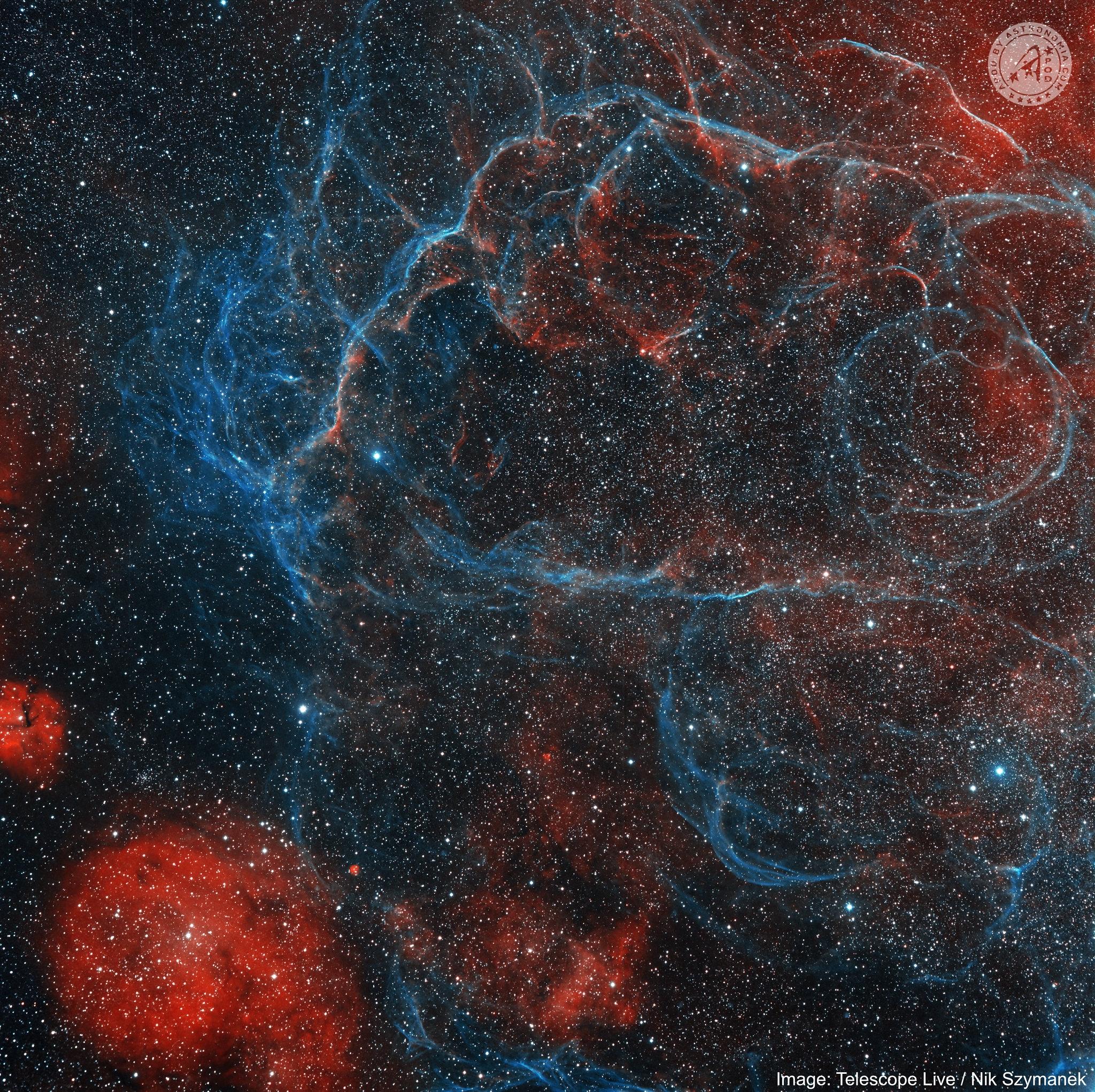 Resto di Supernova nelle Vele