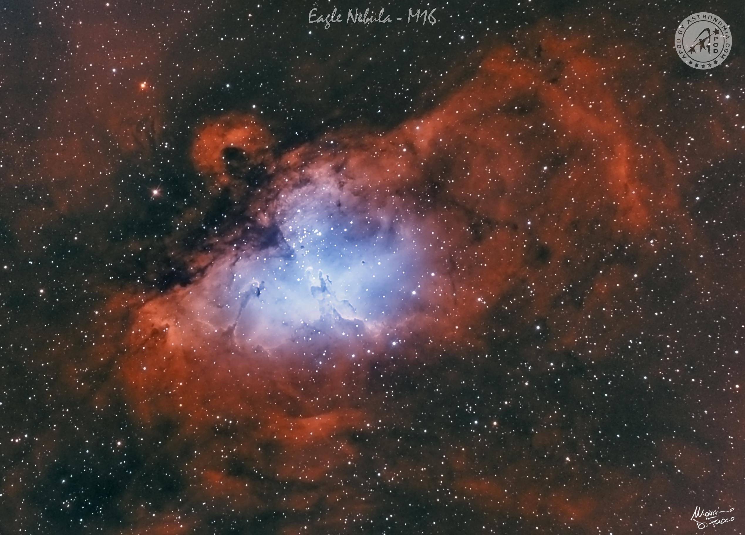 La Nebulosa dell'Aquila M16