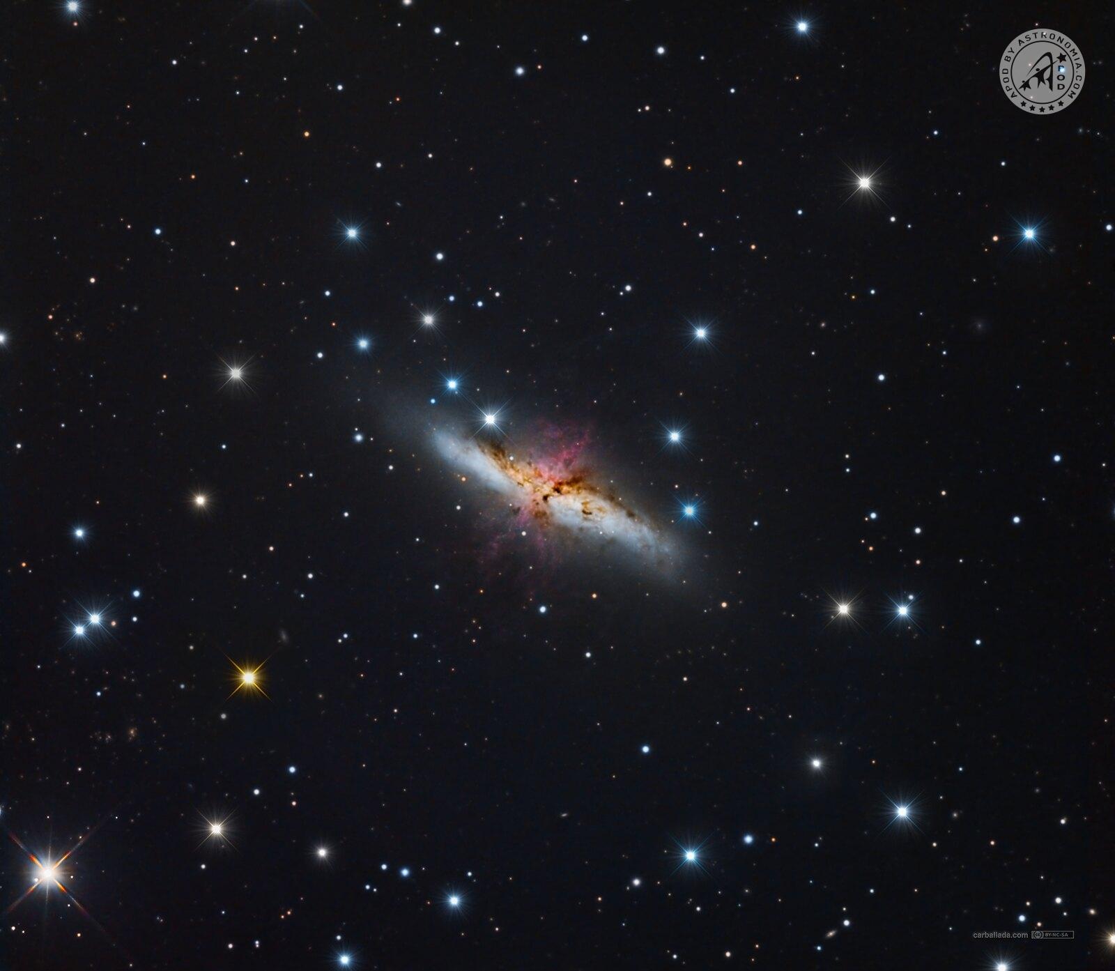 M82 - Galassia Sigaro