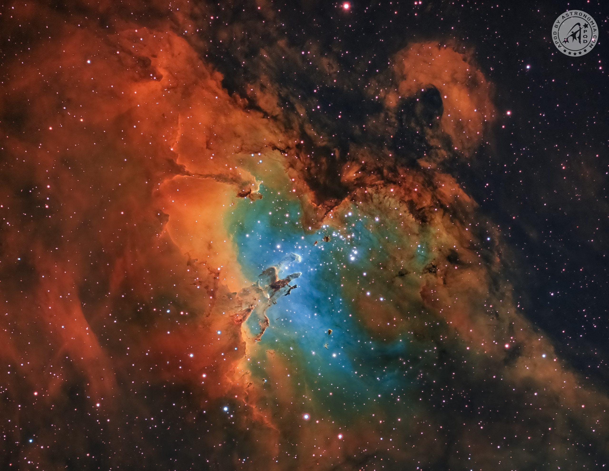 Nebulosa dell'Aquila e Pilastri della Creazione